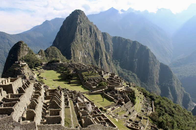 Machu Picchu - ancient ruins in Peru - must add to any Peru itinerary