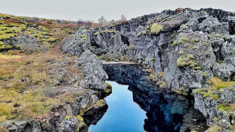 Silfra - Crack in lava rocks, Golden Circle, Iceland