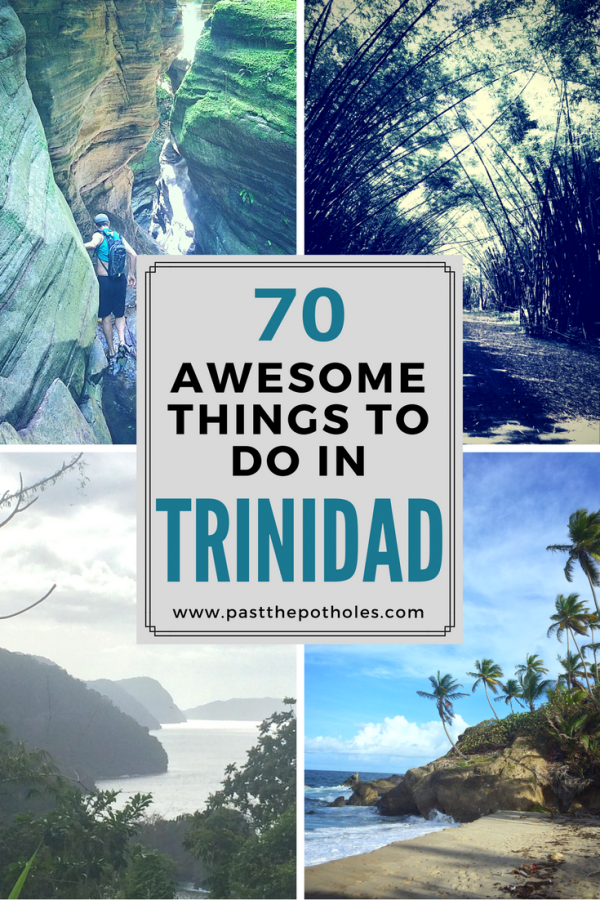 various images of Trinidad - best things to do in Trinidad